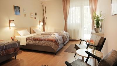 Twin Room Vila Dunavski Raj B&B Vinci, Golubac, Serbia